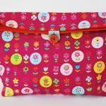 Flowers reusable snack bag by El ri..