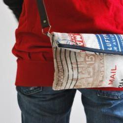 Messenger  Travel bag by El rincón de la Pulga